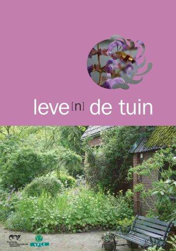 leve de tuin - Milieuadvieswinkel