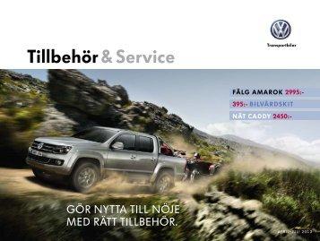 Tillbehör & Service - Volkswagen Transportbilar