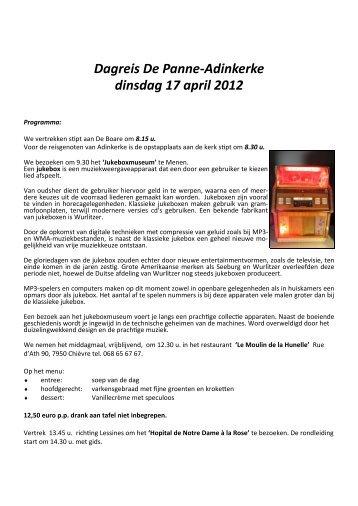 dagreis cdenvplus 17 april 2012.pdf - De Panne