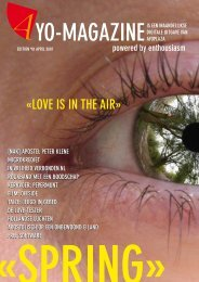«LOVE IS IN THE AIR» - AYO Magazine