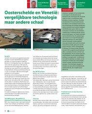 Oosterschelde en Venetië - GeoTechniek