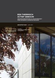een thermisch actief gebouw (architectuur 4) - Febelcem