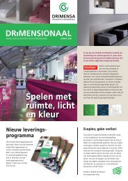 Spelen met ruimte, licht en kleur Nieuw leverings - Drimensa