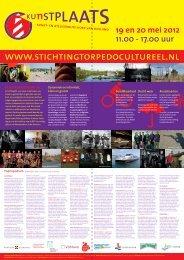 19 en 20 mei 2012 11.00 - 17.00 uur - Stichting Torpedo Cultureel