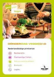 Veggie - Visit Gent