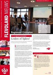 Flevoland Nieuws 15 - Brandweer