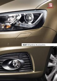 Brochure SEAT ALHAMBRA accessoires - Auto Honsel B.V.