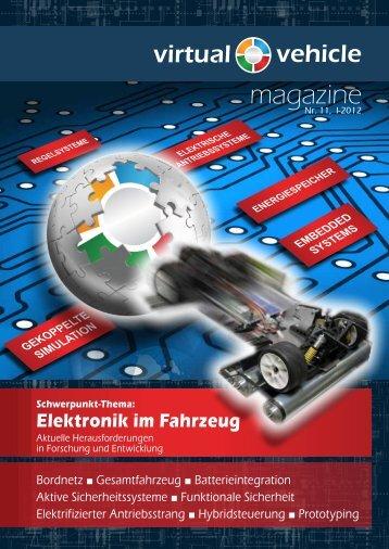 magazine - Das Virtuelle Fahrzeug