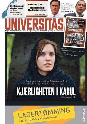 LAGERTØMMING - Universitas