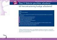 Stap 2: Selectie geschikte arbodienst (of ... - Werken in wonen