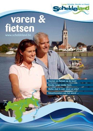 varen & fietsen - Toerisme Oost-Vlaanderen