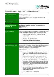 Forsikringsmægler / Skade / Salg – Stillingsbeskrivelse