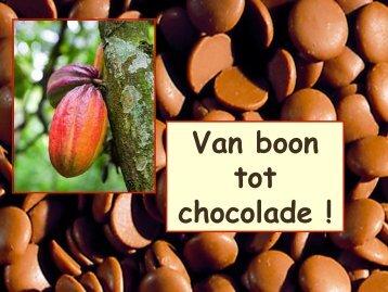 Van boon tot chocolade ! - Jean-Jean