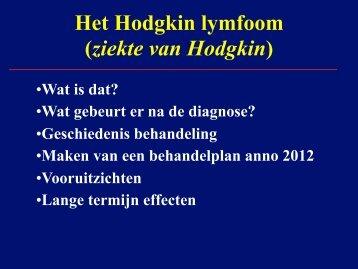 Hodgkinlymfoom