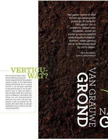 Woonstijl van grauwe grond naar groener gras - Buytengewoon