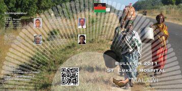 Jaarverslag 2011 - Stichting St. Luke's Hospital Malawi