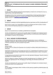Roller og ansvar - Oslo universitetssykehus