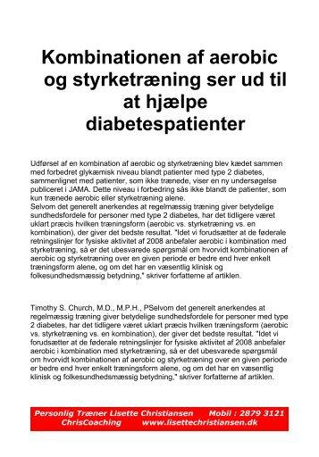 Diabetes og træning - Lisette Christiansen