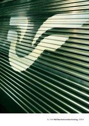SJ AB Hållbarhetsredovisning 2009 - Publicera Information AB