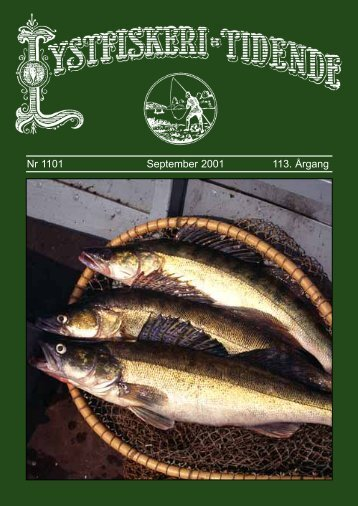 Nr 1101 September 2001 113. Årgang - Lystfiskeriforeningen