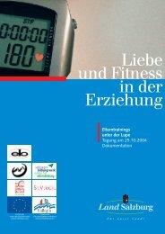 Materialien zur Weiterbildung in Salzburg, Heft 34