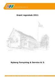 Hent grønt regnskab 2011 for NFS