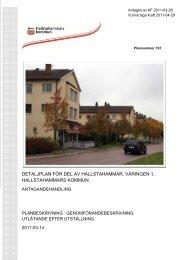 Planhandlingar Väringen (pdf 650 Kb, öppnas i nytt ... - Hallstahammar