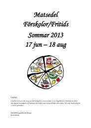 Matsedel Förskolor sommar 2013.pdf