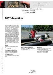 NDT-tekniker