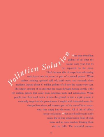Pollution Solution - Smithsonian Education