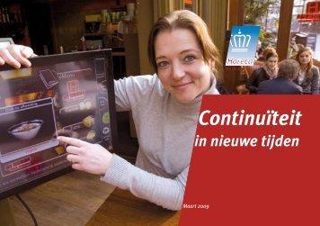 Continuïteit in Nieuwe Tijden - Koninklijke Horeca Nederland