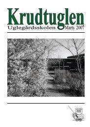 Krudtuglen2007marts - Uglegaardsskolen