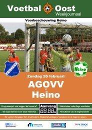 AGOVV Heino