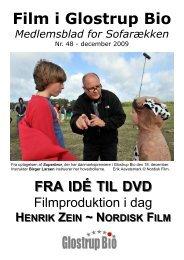 Nr. 48: Fra idé til DVD - med Henrik Zein fra Nordisk Film - Glostrup Bio