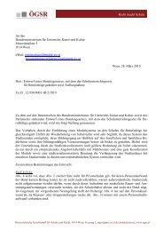 Recht macht Schule An das Bundesministerium für Unterricht, Kunst ...