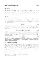 Faldmaskine - øvelse 3