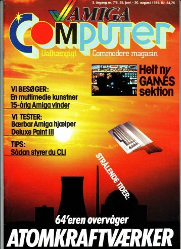 "Page 1 Commodore magasin `, *§"".ä."" 'î GAMES v
