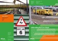 Projectblad Uitbreiding Red Cow-depot - BAM Rail