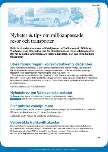 Nyhetsbrev 2 - Göteborg