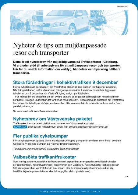 Nyhetsbrev 2 Goteborg
