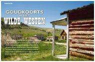 Goudkoorts in het wilde westen - Target Travel