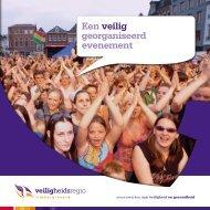 Folder Een Veilig georganiseerd evenement - Gemeente Roermond