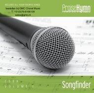 Songfinder - GMC Gospel Music Centre