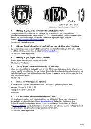 Vecka 13 - Farsta Gymnasium