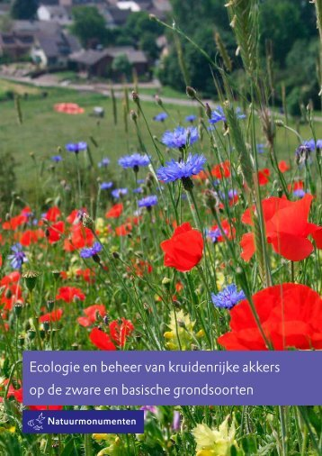 Ecologie en beheer van kruidenrijke akkers op de zware en ...