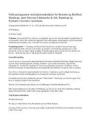 Referat fra fællesmøde 13. november 2012 - Favrskov Kommune