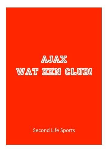 AFC Ajax - SECOND LIFE SPORTS