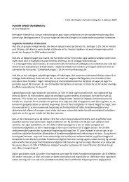 kvinder uenige om børnelov - Dansk Kvindesamfund