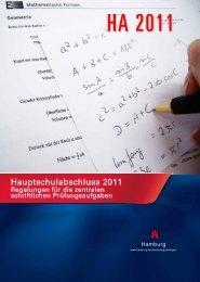 Hauptschulabschluss 2011 - Hamburger Bildungsserver
