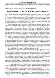 Verden har brug for et nyt Bretton Woods ... - Schiller Instituttet